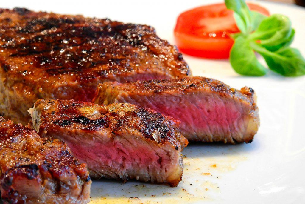 viande Restaurant Les Berges de l'Iton