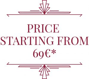 Price starting form 69€
